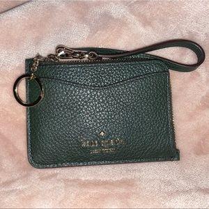 Kate spade leather card holder
